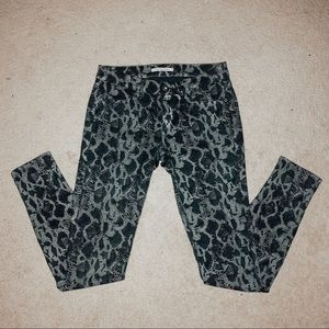 Rich & Skinny Animal Print Jeans